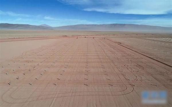 中国鼎力支持阿根廷高查瑞光伏发电站项目