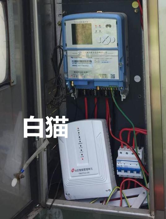 """连州供电局安装防窃电利器""""白猫"""""""