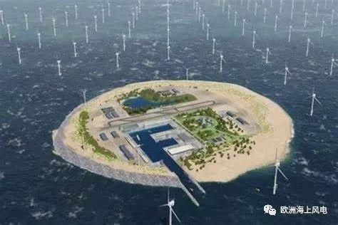 震撼!北海风电枢纽岛大升级