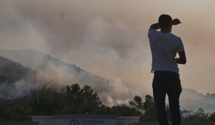 加州计划用1亿美元在火灾风险区激励部署用户侧储能