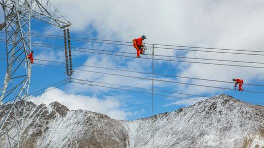 阿里与藏中电网联网工程正式开工<p>将形成西藏统一电网,促进西藏清洁能源开发外送