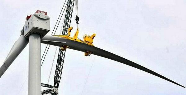 世界最大风机叶片!Haliade-X12MW风电叶片吊装成功【附图】