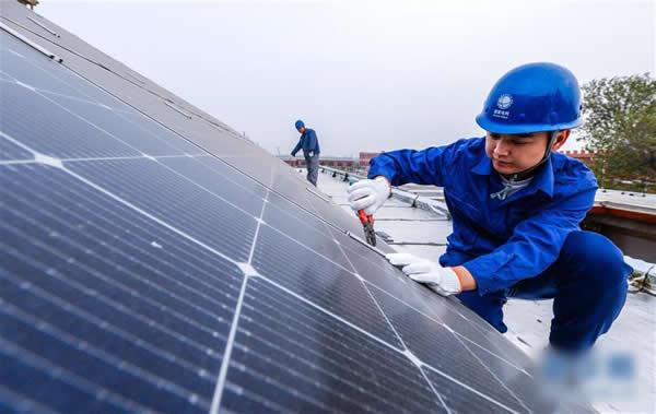 河北邯郸推进乡村家庭屋顶光伏惠民工程