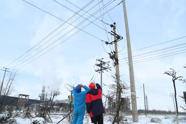 陇县供电分公司强化物资管理,配合多点多面施工