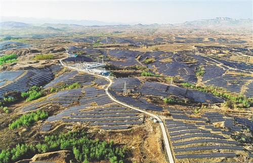 河北省临城县大力发展生态清洁能源项目