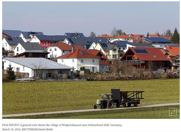 德国政府决心搬走阻拦光伏风电发展的两座大山!