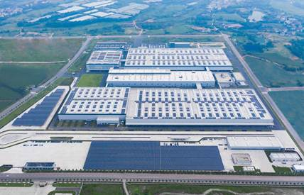 零跑汽车金华AI工厂光伏项目正式交付