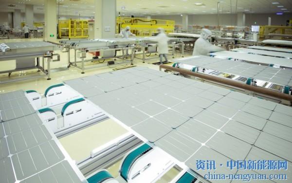 隆基开始批量生产Hi-MO 5系列光伏模块