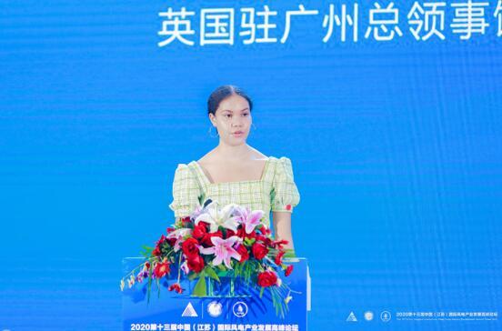 英国驻广州总领事管:积极推动中英风电合作